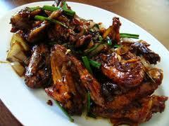 Resep Sayap Ayam Saus Mete