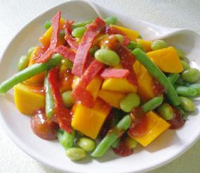 Selada Mangga Saus Thai