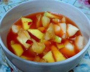 resep asinan buah