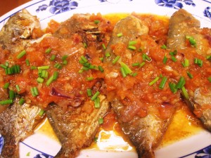 resep fish in red sauce