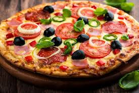 resep pizza salami italia