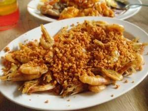 resep udang goreng bawang