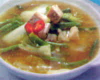 Resep Sayur Asam Sawi Banjarmasin