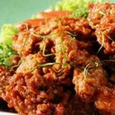 Resep daging pedas daun jeruk