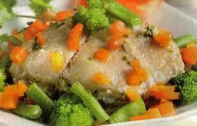 Resep Kakap Kukus Sayuran