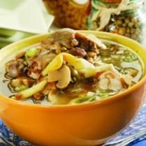 resep sup ayam tauco