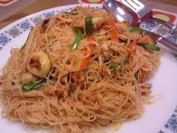 resep mee hoon goreng malaysia