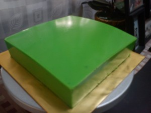cake lapis pandan