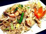resep Pad Thai (Thailand)
