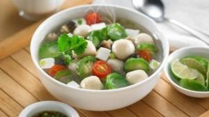 resep bakso ikan sayuran