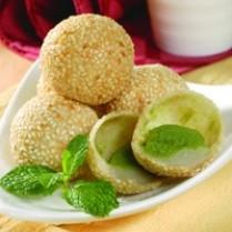 resep onde-onde isi kacang hijau keju