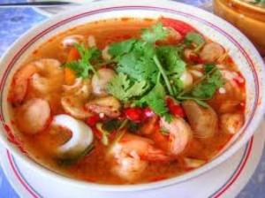 resep sup aneka seafood pedas
