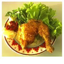 pecel ayam diabet