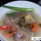 Sup Kaki Sapi