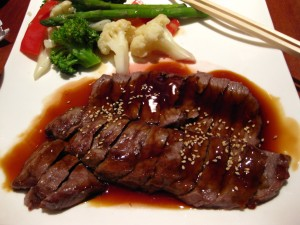 steak teriyaki